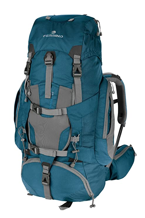 43d591a06c Ferrino Transalp Zaino Trekking, Blu, 100 l: Amazon.it: Sport e ...