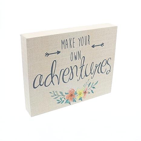 Amazon.com: Haz tus propias aventuras Letrero De Caja ...
