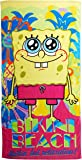 Nickelodeon SpongeBob Square Pants Colada Beach Towel by The Northwest Company, 28 by 58""
