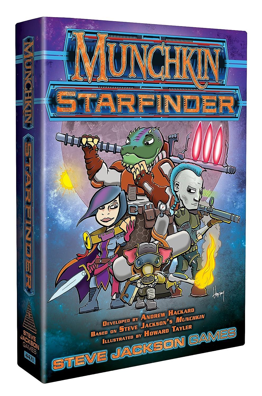 Gioco in scatola Munchkin Starfinder lingua inglese Steve Jackson Games SJG04471