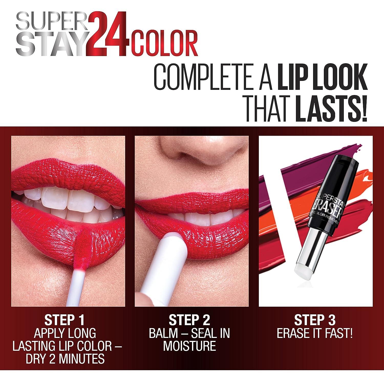 Maybelline New York Superstay 24, 2-Step Lipcolor, Forever Chestnut 115 K0868703