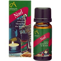 Absolute Aromas Noel Festive Essential Oil with Cinnamon, Clove, Frankincense, Orange and Pine Oil - Great for diffusing at Christmas