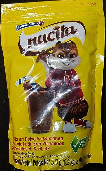 Nucita Instant Chocolate Drink 7 Ounces