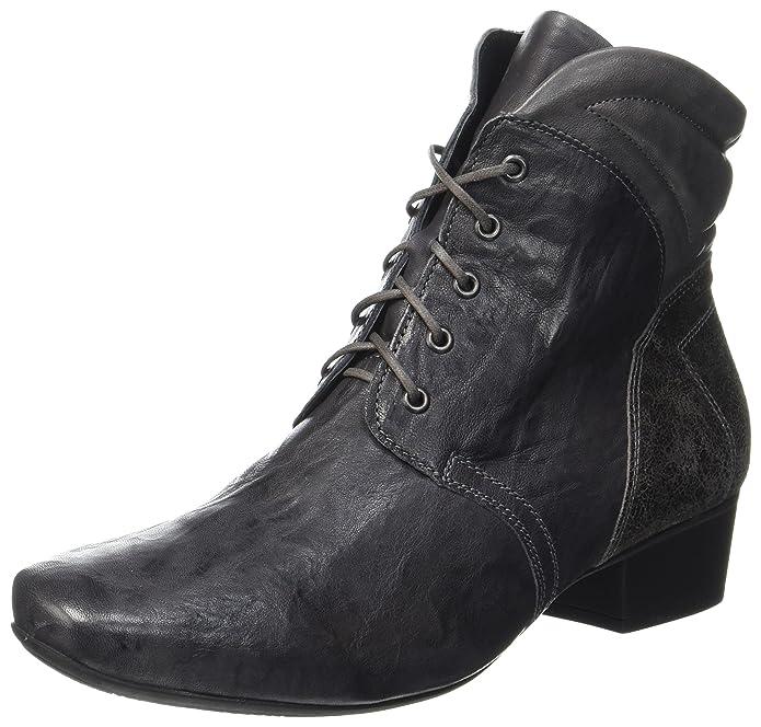 Think! Karena, Desert Boots Femme, Gris (Vulcano/Kombi 21), 37 EU