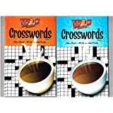 Coffee Time Crosswords Puzzles Set of 3 Volumes (1, 2, 3)