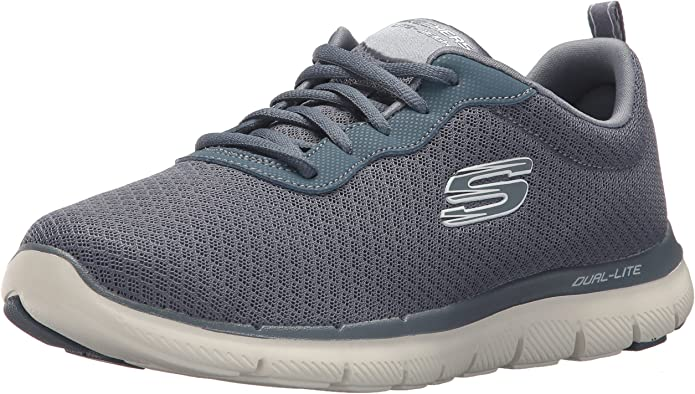 Skechers Flex Appeal 2.0 Newsmaker Sneakers Damen Grau