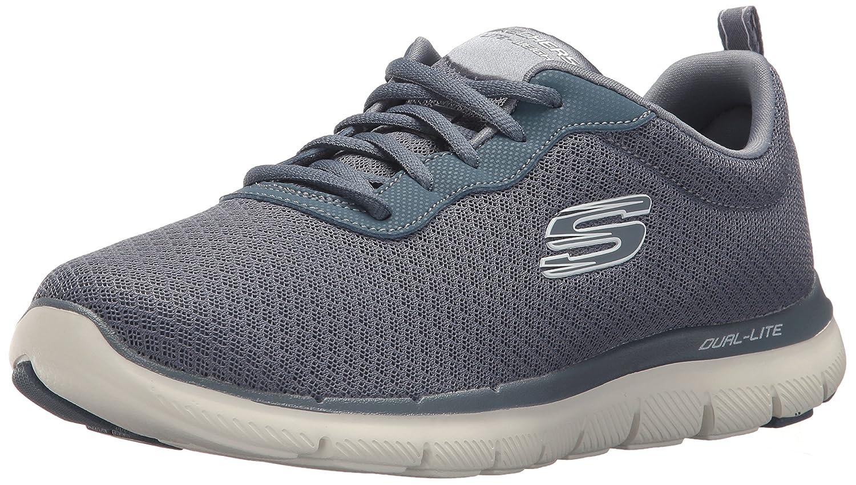 Skechers Women's Flex Appeal 2.0 Newsmaker Sneaker B072R4N6V6 7.5 B(M) US|Slate