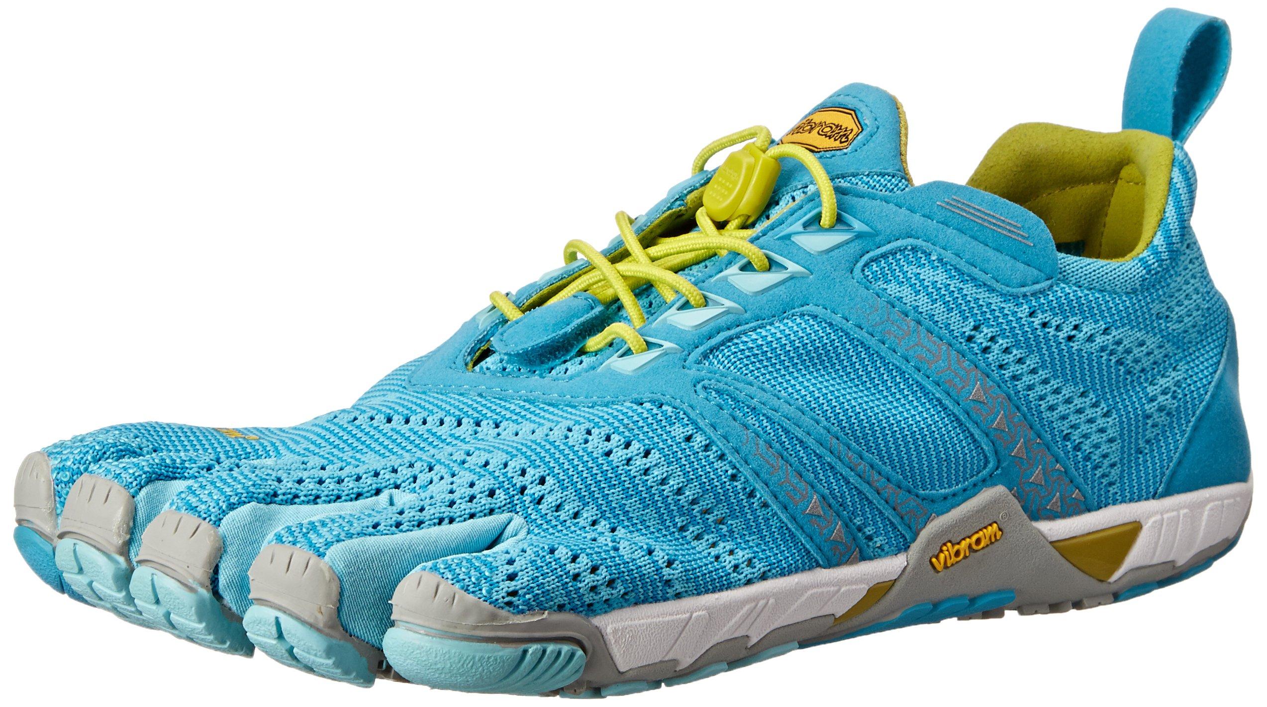 Vibram Women's KMD Evo Cross Training Shoe, Light Blue/Grey/Yellow, 41 EU/9-9.5 M US