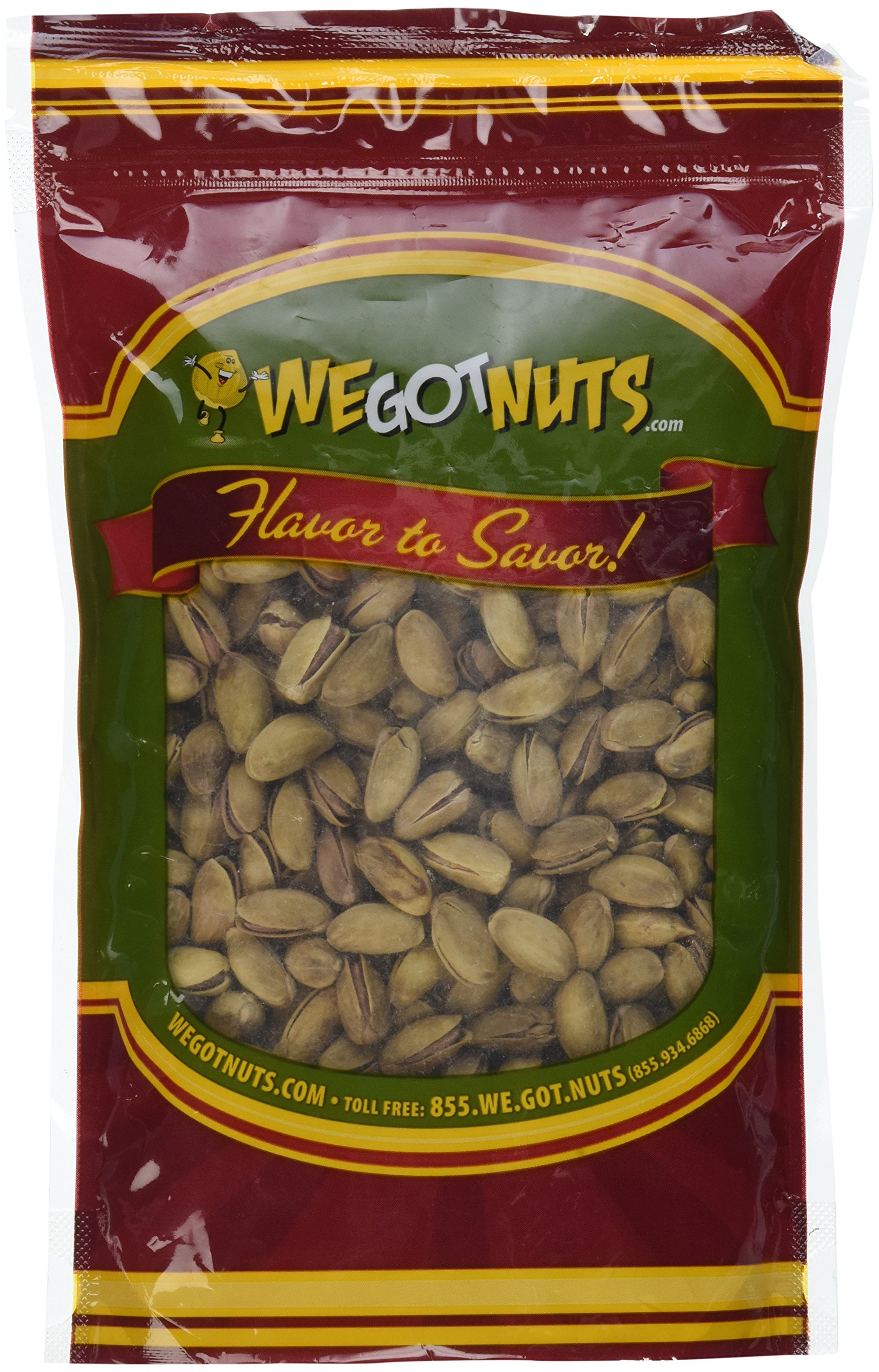 Turkish Pistachios Antep Roasted Salted , In Shell - We Got Nuts (1 LB.) by We Got Nuts (Image #2)