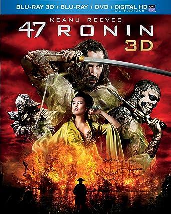 Amazon com: 47 Ronin (Blu-ray 3D + Blu-ray + DVD + Digital HD with