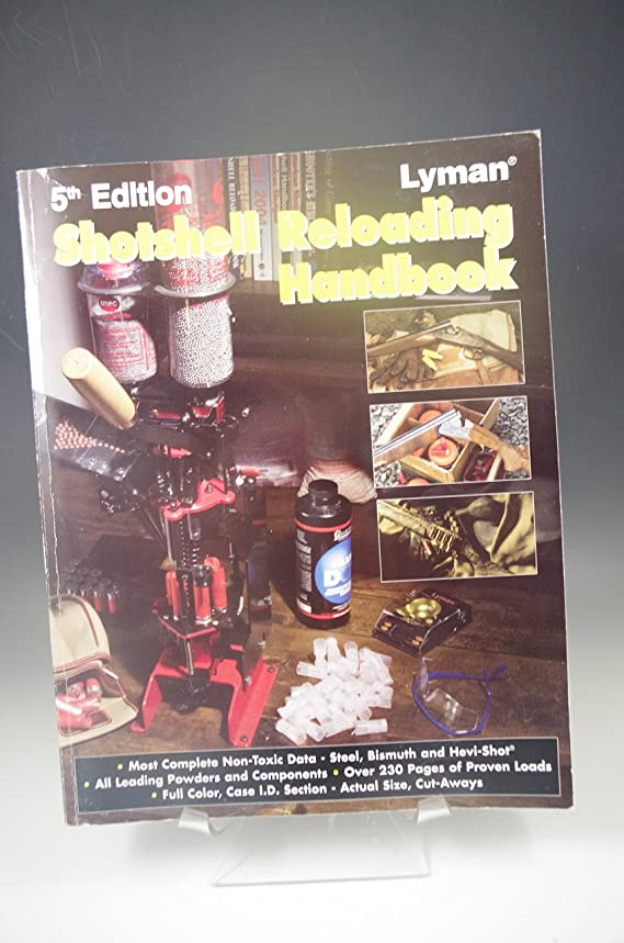 Lyman Shotshell Handbook 5Th Edition