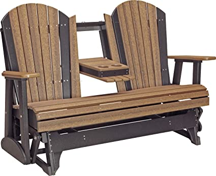 Amazon.com: Muebles granero EE. UU. 5 Poly Adirondack ...