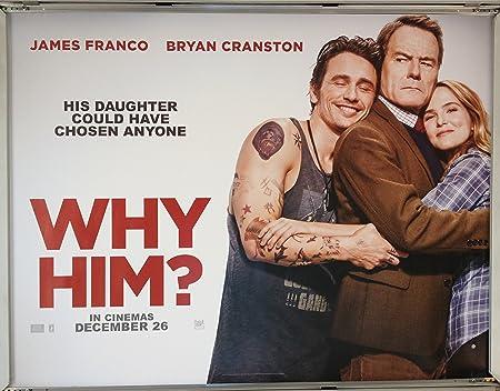 Cinema Poster Why Him 2016 Quad Zoey Deutch James Franco