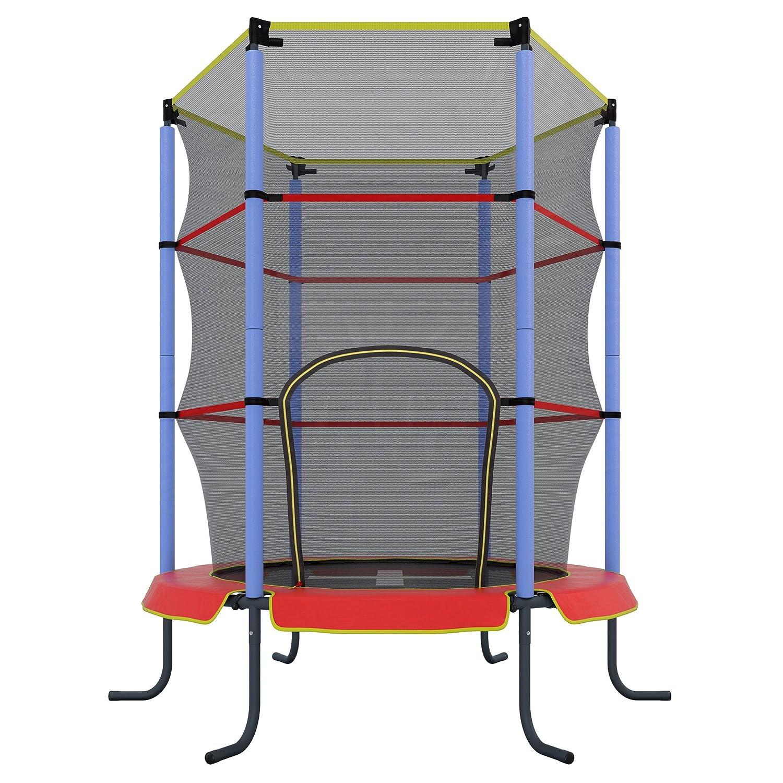 Ultrasport Jumper Cama elástica de interior para niños color rojo cm