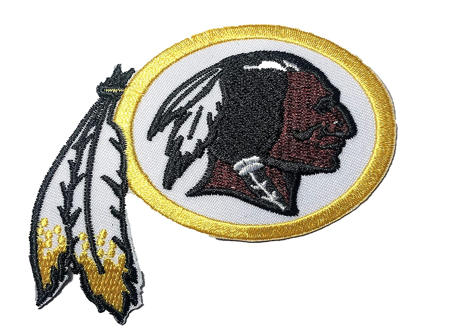 NFL Logo Embroidered Gold Iron-on Patch 2.5 Inch
