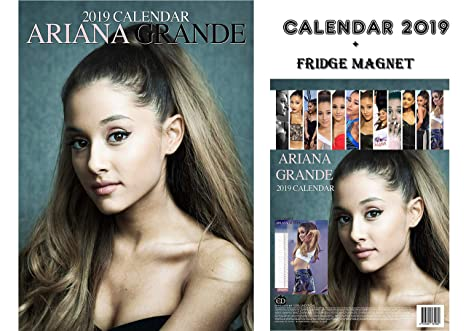 Calendario Ariana Grande 2020.Ariana Grande Calendario 2019 Ariana Grande Calamita Da