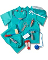 Prextex Child's Halloween Doctor Dress up Surgeon Costume Set and Accessories