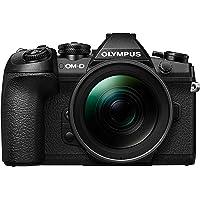 Olympus OM-D E-M1 Mark II Systemkamera inkl. M.Zuiko Digital ED 12-40 mm f2.8 PRO Objektiv Kit schwarz