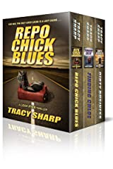 The Leah Ryan Thrillers Box Set: Three Chiller Thrillers (Repo Chick Blues #1, Finding Chloe #2, Dirty Business #3) (Leah Ryan Thrillers Box Set, Books 1-3) Kindle Edition