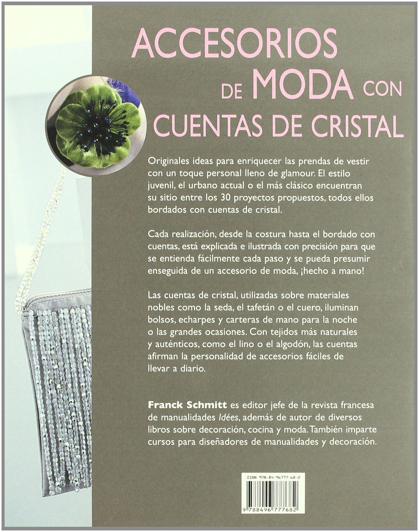 Accesorios de Moda con Cuentas de Cristal: SCHMITT(777682): 9788496777682: Amazon.com: Books