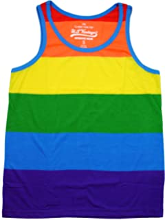 b7facf72745 Amazon.com  Zesties Pride Romper - Gay Pride Rainbow Male Romper ...