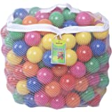 Click N Play Pack of 100 2.5 Inches Phthalate Free PBA Free Crush Proof Plastic Ball Pit Balls - 5 B