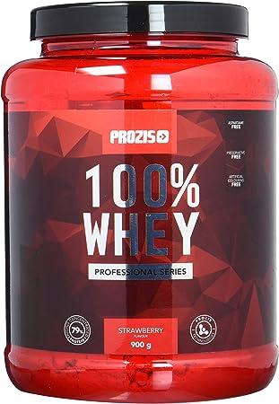 Prozis 100% Whey Professional Protein, Proteína en polvo, Rico en BCAAs, Crecimiento Muscular y la Recuperación, Ideal para Culturismo y sin ...