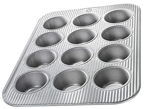 USA Pan 1200MF Bakeware Cupcake And Muffin Pan