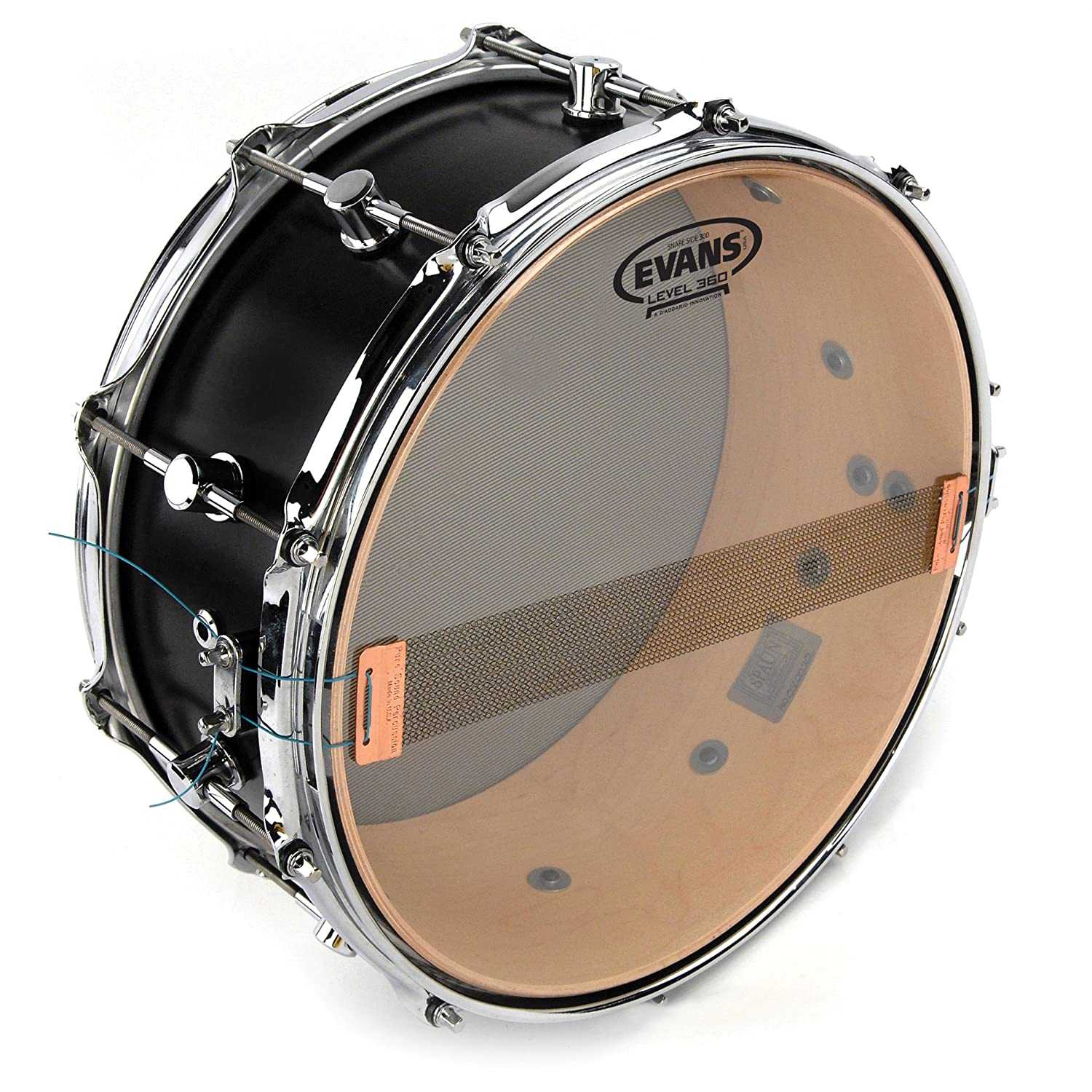 Amazon.com: Evans Clear 300 Snare Side Drum Head, 10 Inch: Musical Instruments