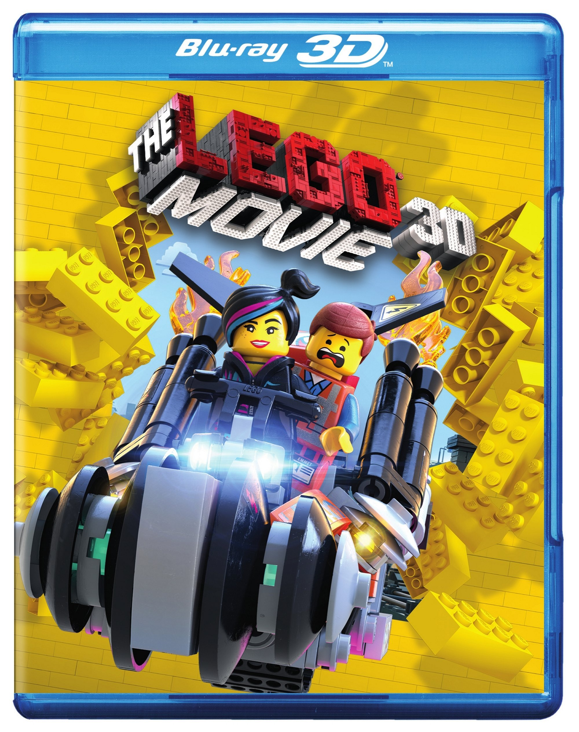 Blu-ray 3D : The Lego Movie (With DVD, With Blu-Ray, Ultraviolet Digital Copy, 3 Pack, 3 Disc)