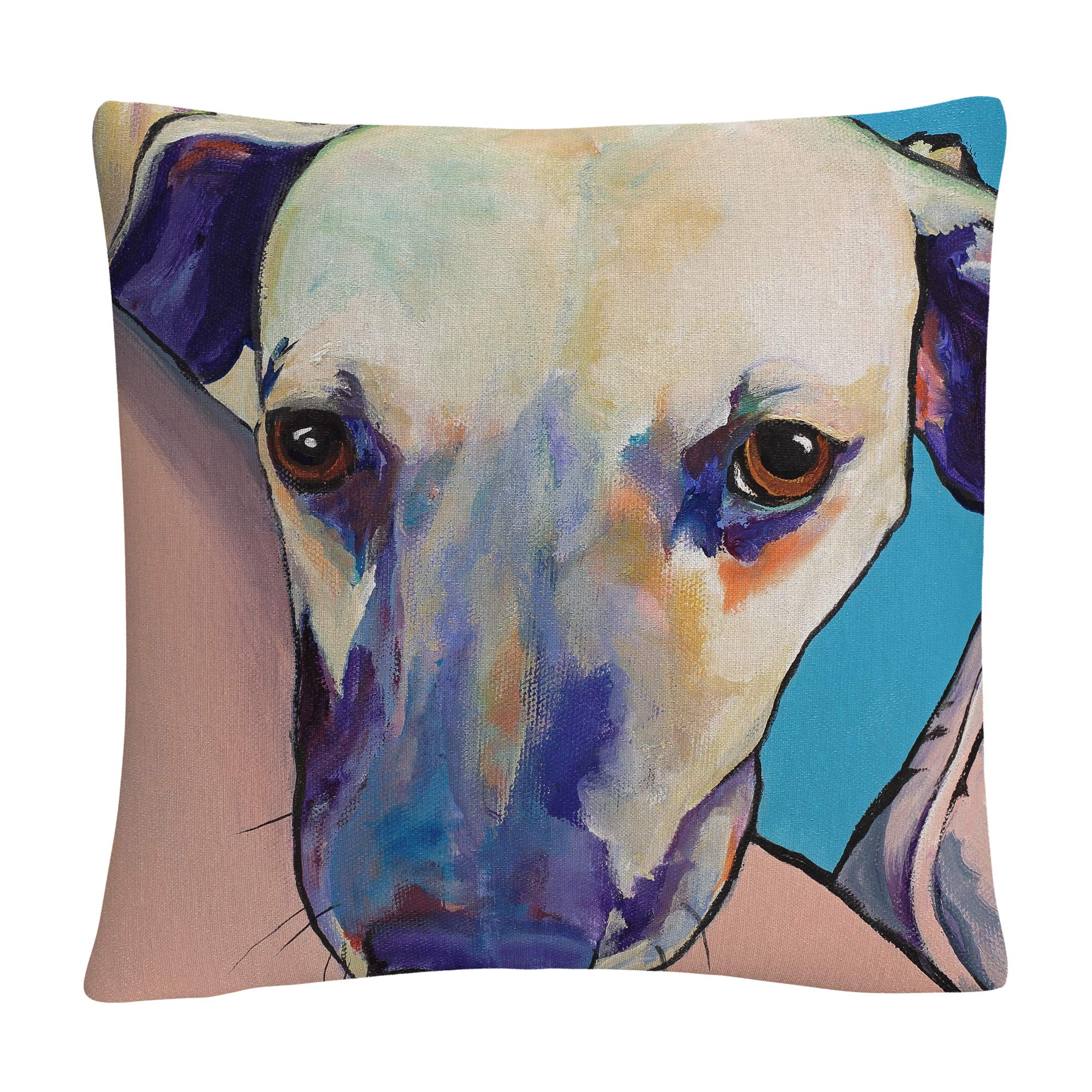 Trademark Fine Art Head Rest' Animals Pets Painting Bold by Pat Saunders-White,