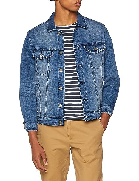 Only & Sons Onscoin Blue Jacket PK 0451 Noos, Chaqueta Vaquera para Hombre, Azul