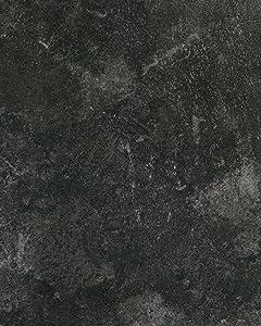 "d-c-fix 346-8092 Decorative Self-Adhesive Film, Slate Grey, 26"" x 78"" Roll"
