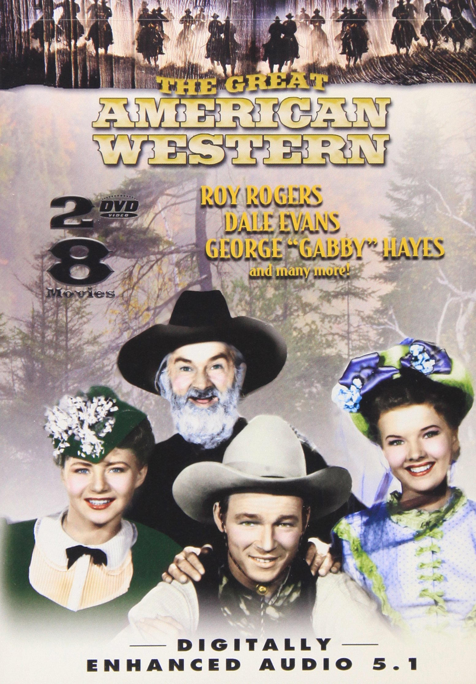 DVD : Great American Western 14 (Black & White, Slim Pack, 2PC)