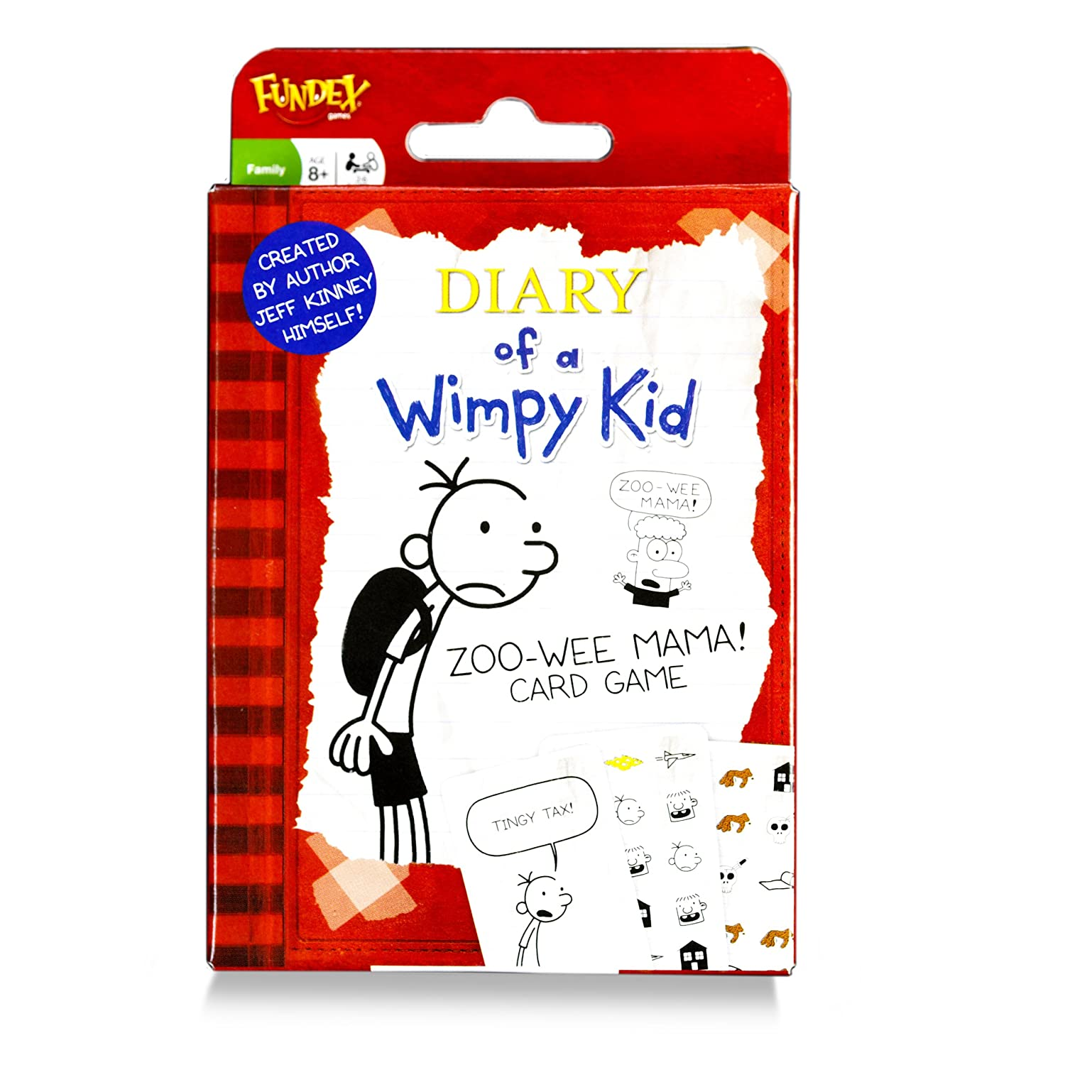 Paul Lamond Wimpy Kid Zoo Wee Mama Card Game: Amazon.co.uk: Toys & Games