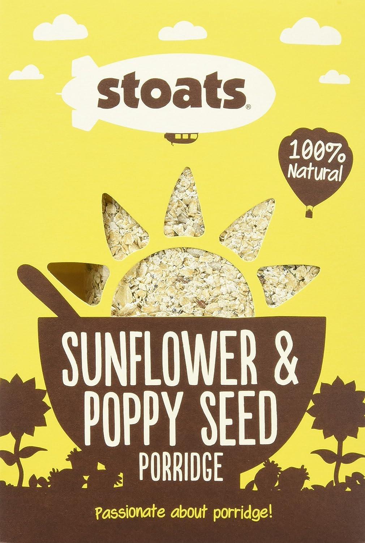 Stoats Sunflower and Poppy Seed Porridge 550 g (Pack of 6)