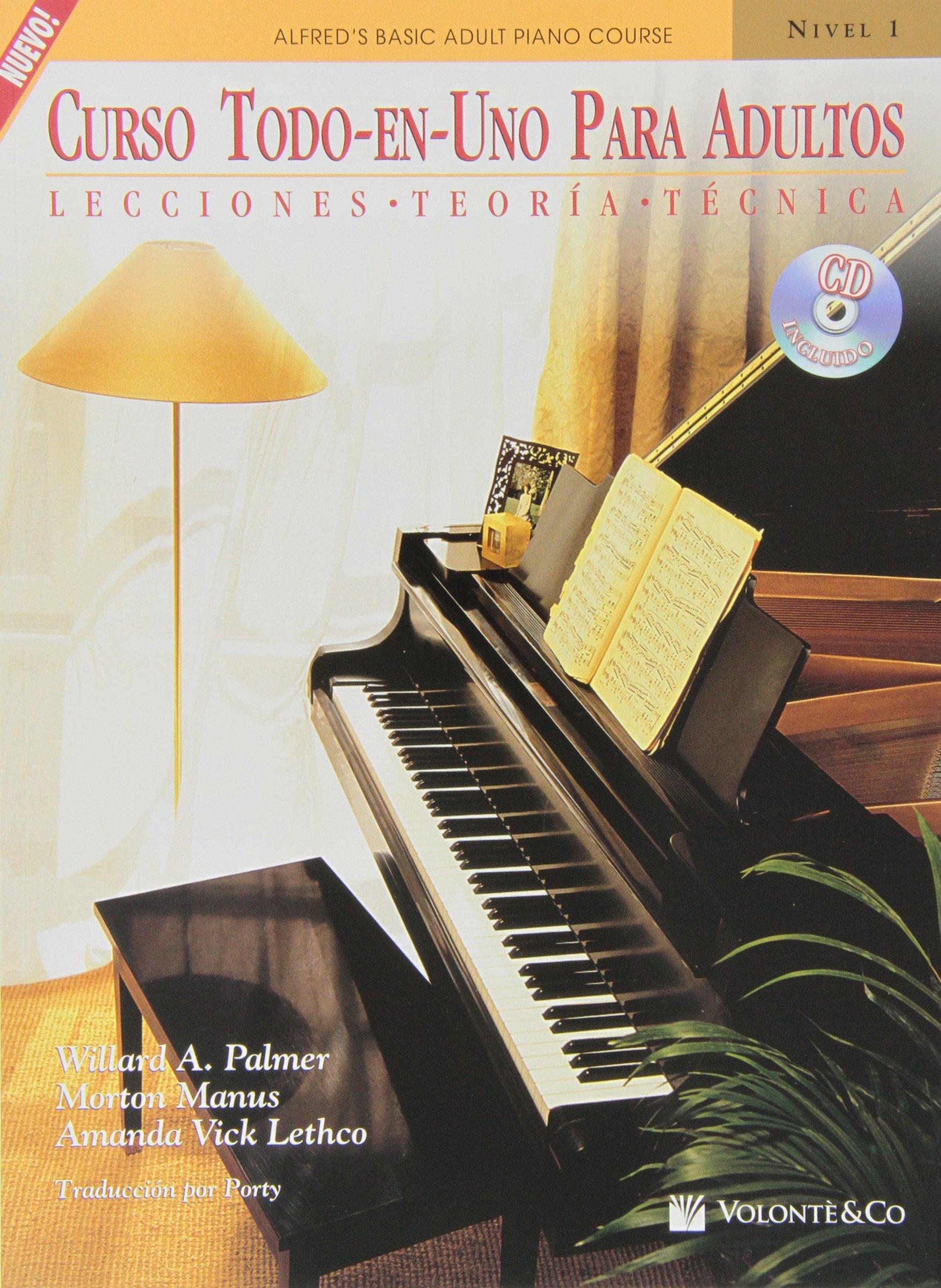 Curso Todo en Uno para Adultos: Nivel 1 con CD: Lecciones ...