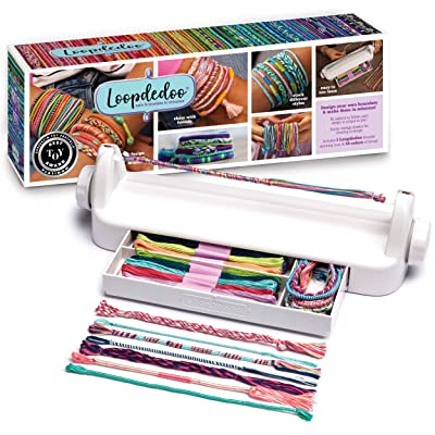 Loopdedoo - Friendship Bracelet Maker Kit - DIY Friendship Bracelets in Minutes - Award-Winning Bracelet Kit: Toys & Games