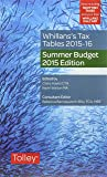 Whillans's Tax Tables 2015-16 2015-16 (Summer Budget Edition)