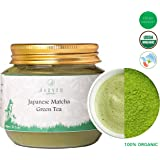 Jarved 100% Pure Japanese Matcha Green Tea Powder: 1 Month Slimming and Detox, Full of Antioxidants (30gm : Makes 30 Cups) in Plastic Jar: Free Ebook