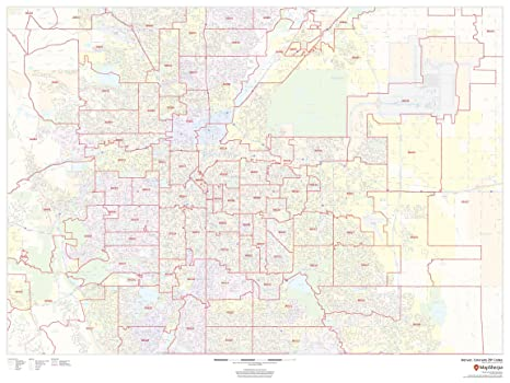 Denver, Colorado Zip Codes - 48\