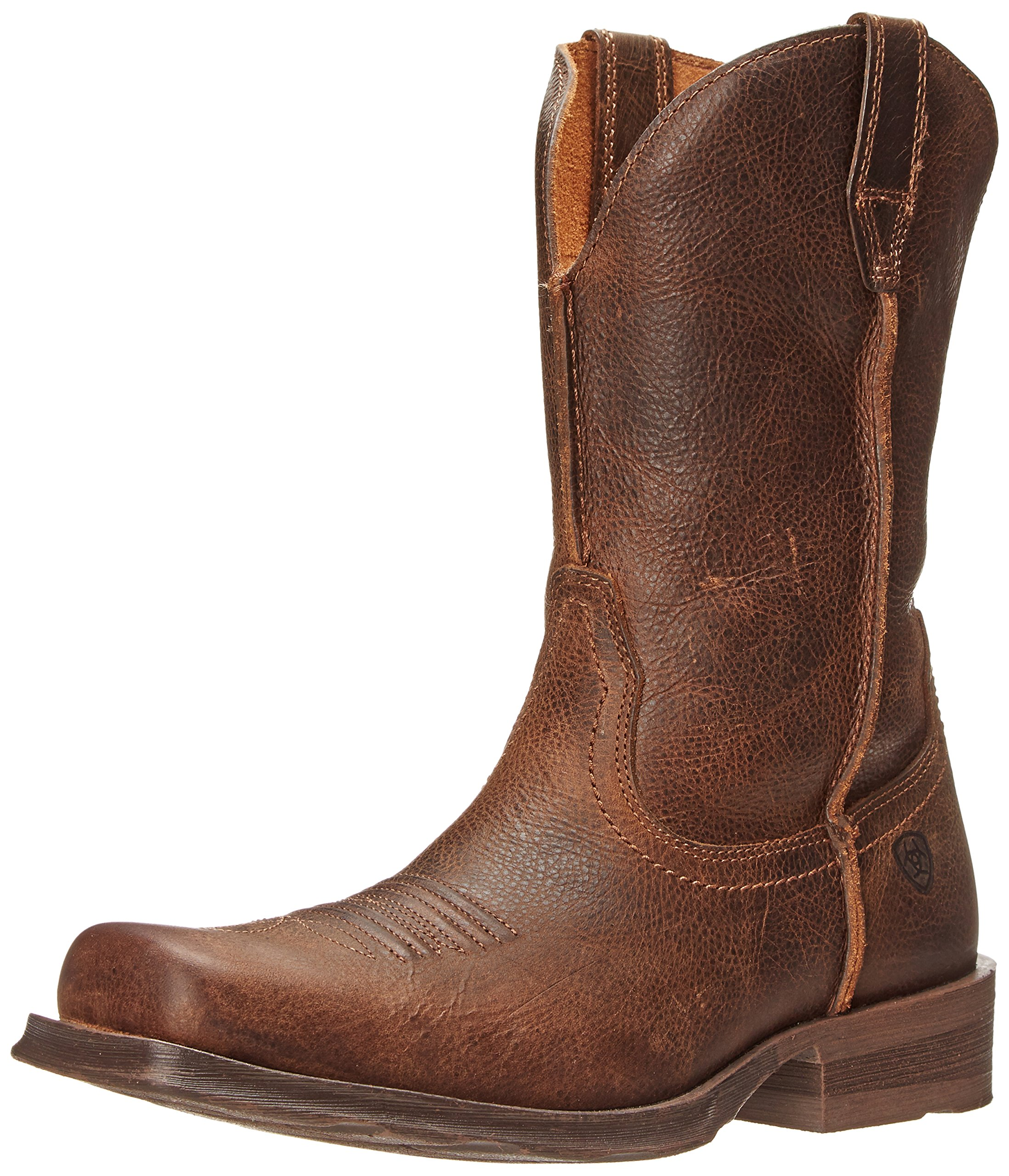 Ariat Men's Rambler Wide Square Toe Western Cowboy Boot, Wicker, 10 M US by ARIAT (Image #1)