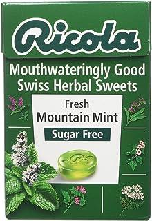 Ricola Mountain Mint Sugar Free 45g 1 2 3 6 Packs