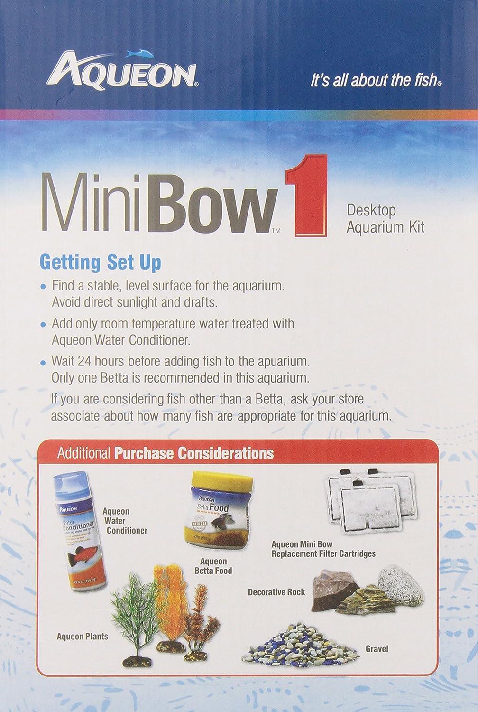 aqueon aqueon 01204 para hormigón Mini lazo Kit de acuario, color ...