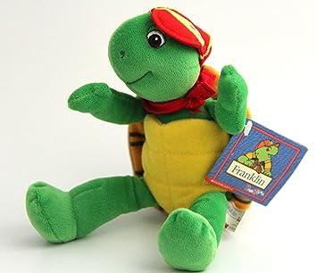 Amazon.com: Franklin tortuga puf de peluche (jubilado ya no ...