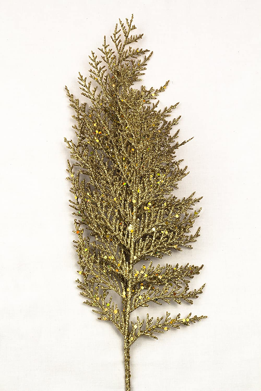 Queens of Christmas WL-PCK22-FRN-GO-22 22 Gold Fern Pick,