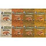 Honey Stinger Waffle 4 Flavor Variety Pack (Pack of 8)