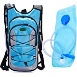 Juboury Hydration Backpack-Hydration Rucksack Bag Includes Free 2L Water Bladder for Running, Hiking, Biking, and for All Other Outdoor Sports Where You Need Water