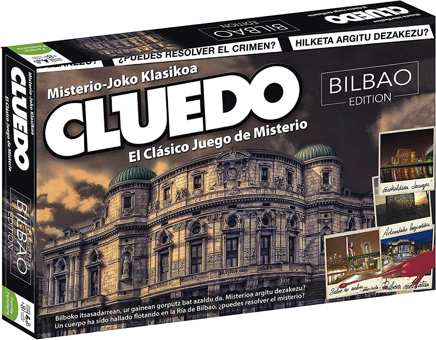ELEVEN FORCE Cluedo Madrid, Multicolor, Talla Única: Amazon.es: Juguetes y juegos