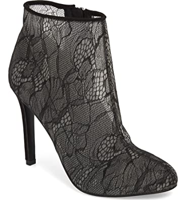 3652f9aec3881 Amazon.com | Jessica Simpson Womens Stacie Lace Anle Booties | Shoes